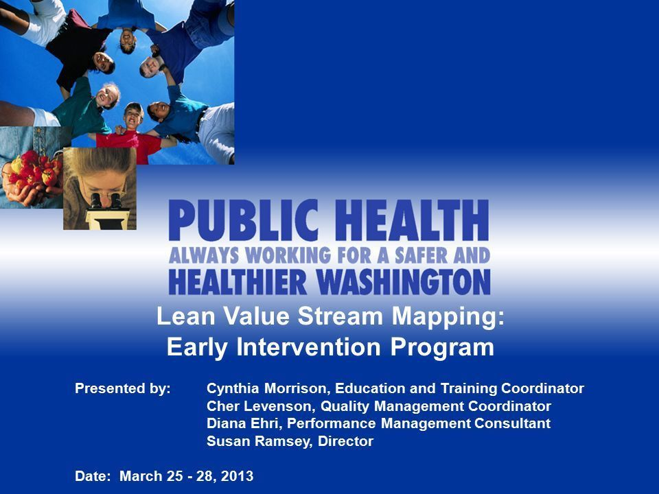 Lean Value Stream Mapping: Early Intervention Program - ppt download