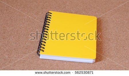 Yellow Notebook Paper Stock Images, Royalty-Free Images & Vectors ...