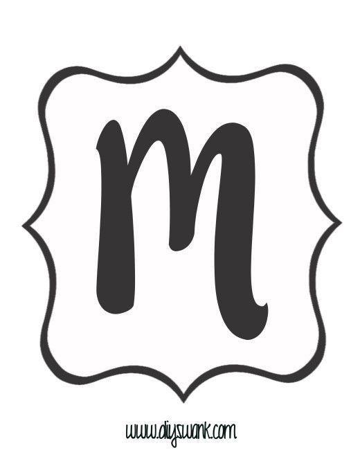 Best 25+ Printable banner letters ideas on Pinterest   Banner ...