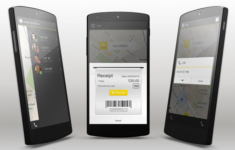 Android Taxi app template