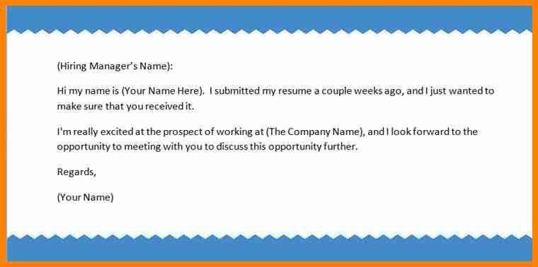 6+ email resume examples - mail clerked