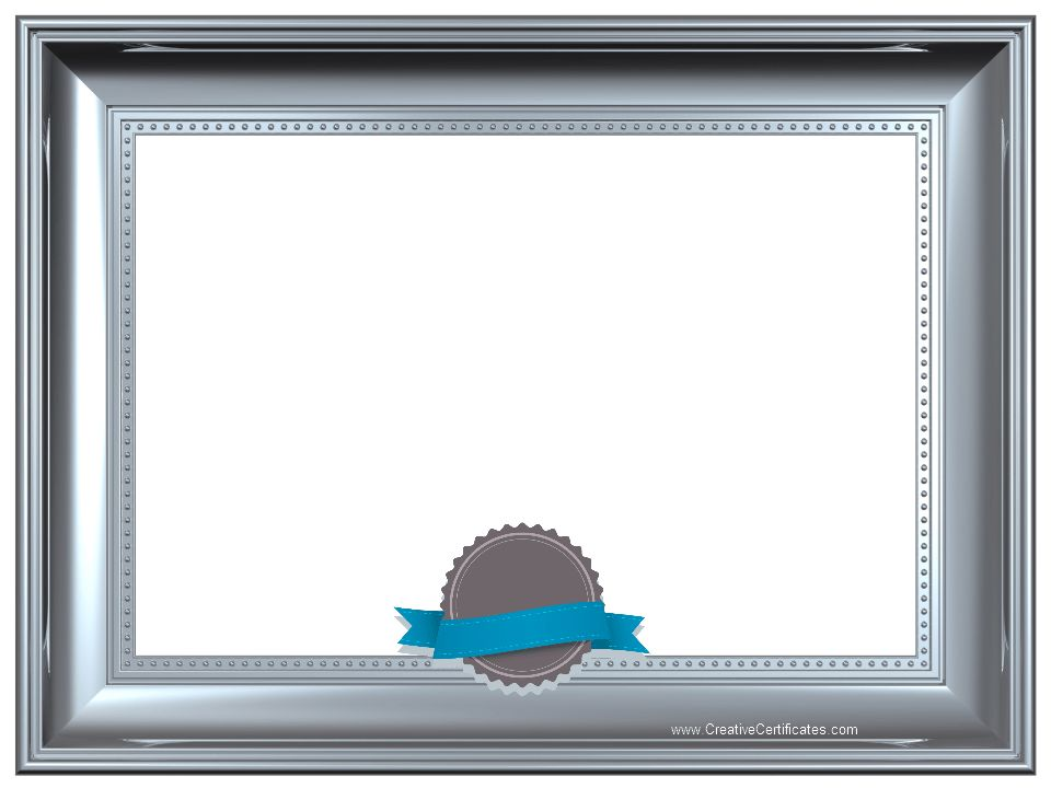 Award Certificate Border Clipart (55+)
