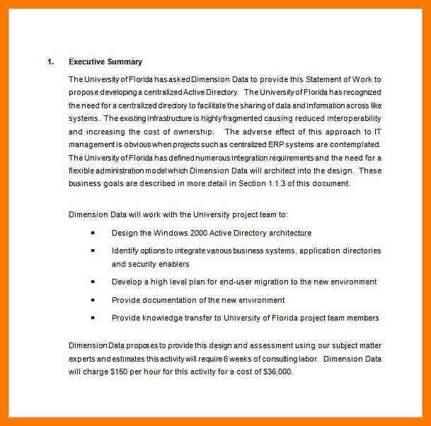 8+ proposal of work template | park-attendant