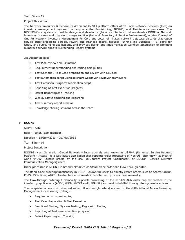 manual testing experienced resume software bug roles and ...