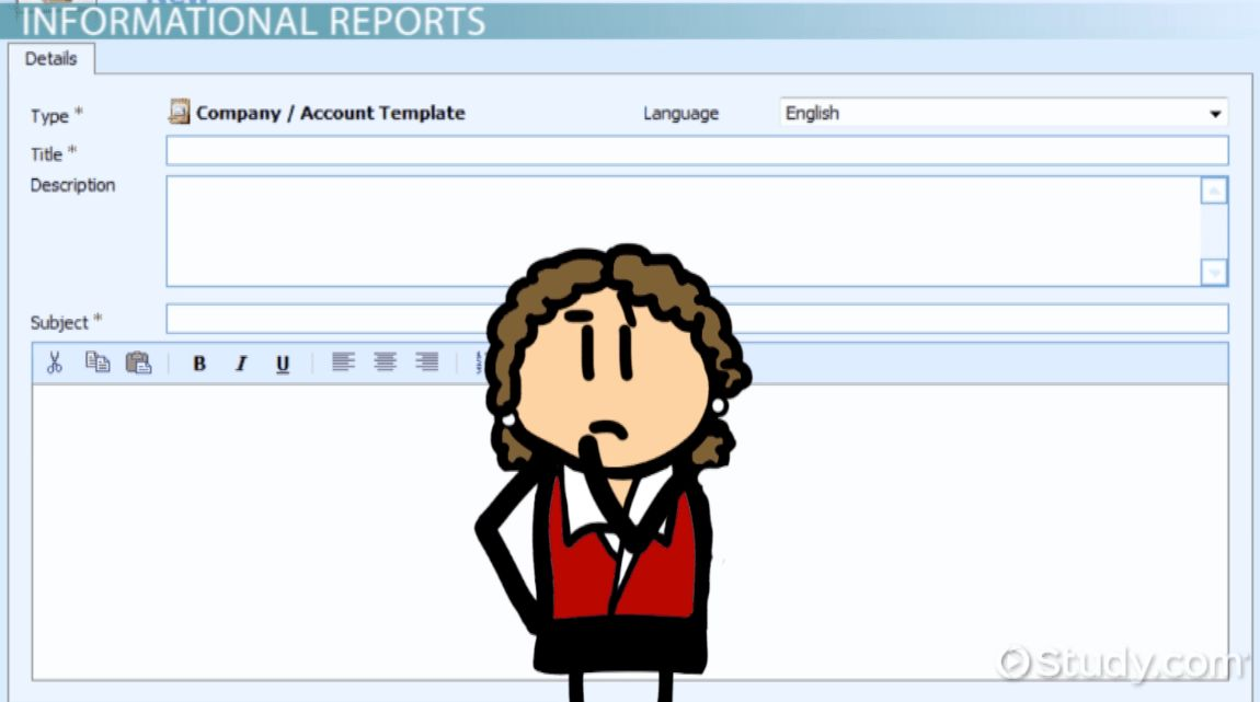Formal Report: Format, Parts & Effectiveness - Video & Lesson ...