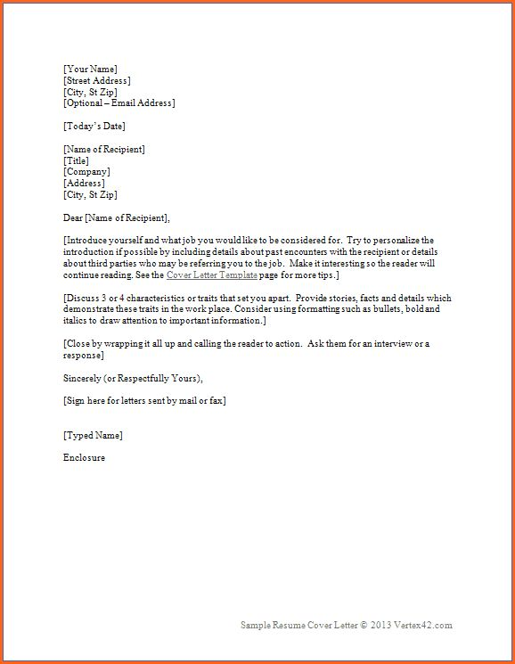 8+ microsoft word cover letter template - Budget Template Letter