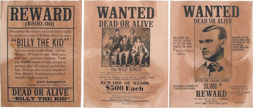 real wanted posters - Google Search | Cowboy | Pinterest | Cowboys