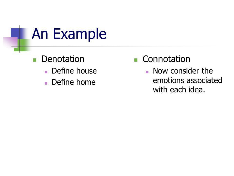 Connotation and Denotation - ppt video online download