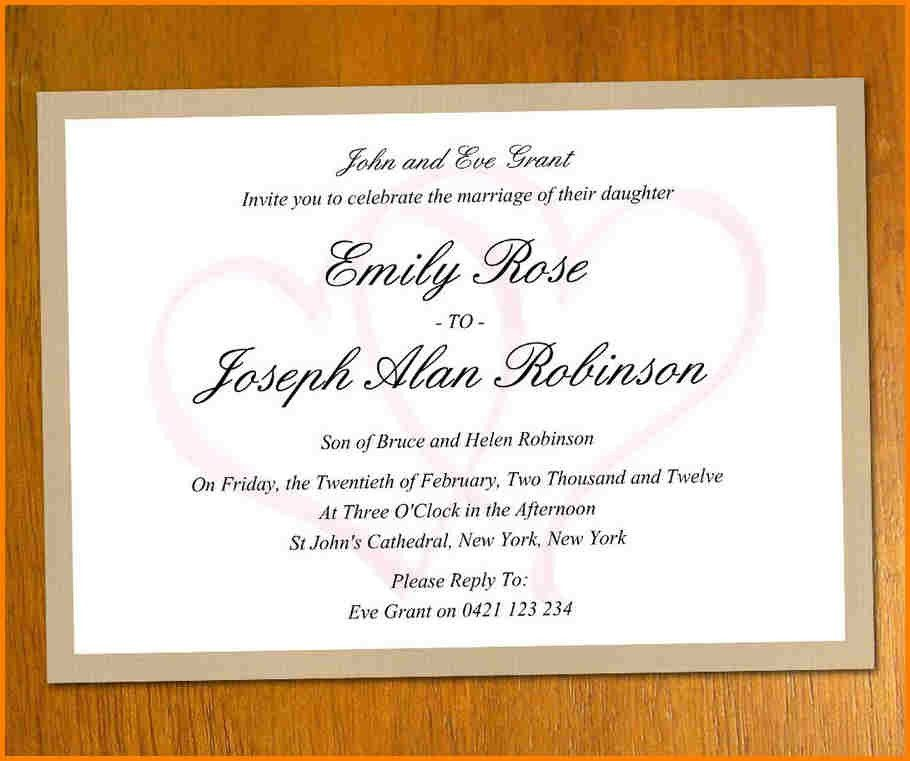 10+ online wedding invitations templates | artist resume