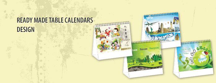 Table Calendar Printing Singapore - AsiaPrint - Online Printing ...