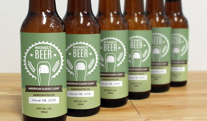Mr. Beer Custom Beer Labels | StickerYou Products