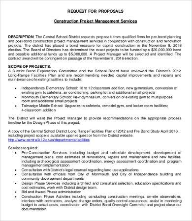 Management Proposal. Proposal – Organisation Proposal Management ...