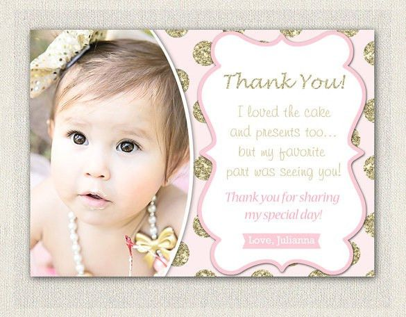 20+ Baby Shower Thank You Cards – Free Printable PSD, EPS, Format ...