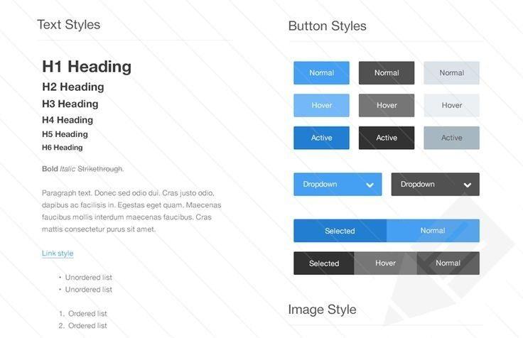 Style Guide Template | peerpex