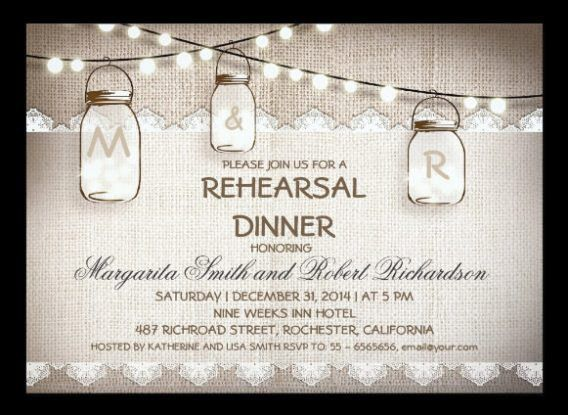 Free Printable Rehearsal Dinner Invitations | badbrya.com