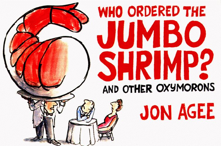 Jumbo Shrimp | Oxymoron | Pinterest