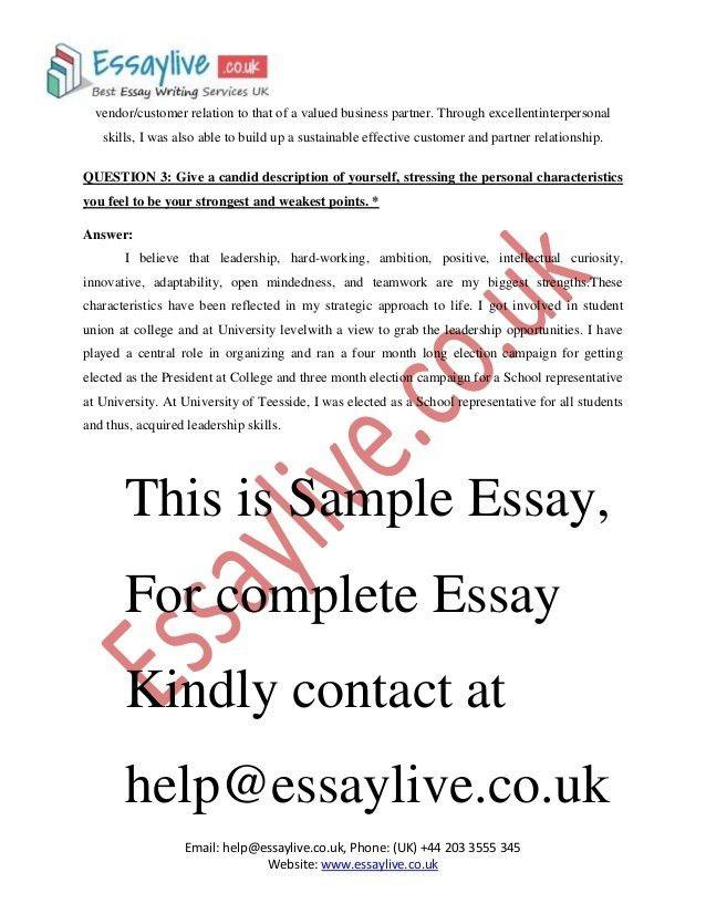 admission essay services optional