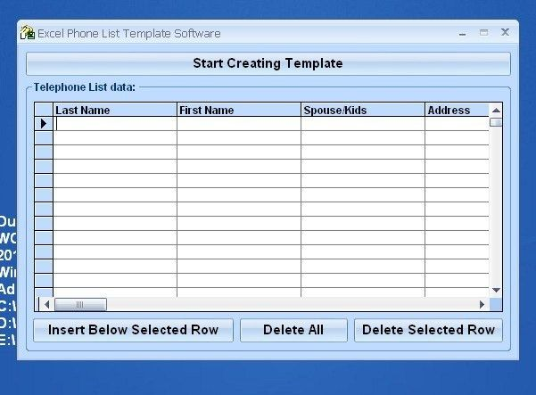 Excel Phone List Template Software latest version - Get best ...