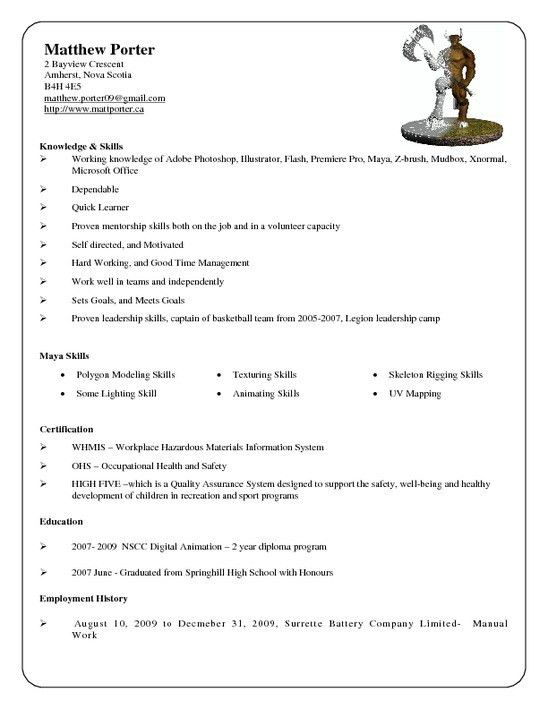 projects idea porter resume 15 porter resume sample daycare - Daycare Resume Samples
