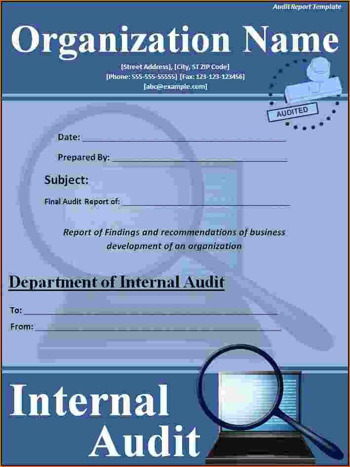 6+ Audit Report Template | Printable Receipt