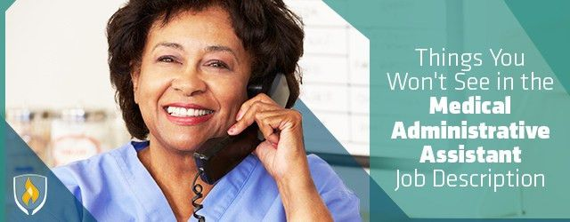 5 Things You Won't See in the Medical Administrative Assistant Job ...