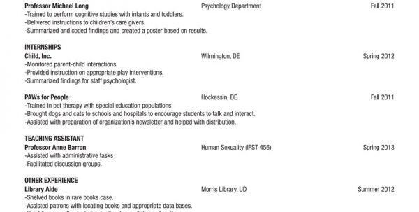 Resume Outline Example. Sweet-Looking Resume Outline Examples 1 ...