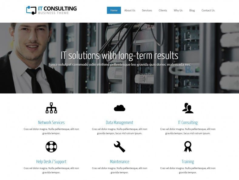 20 Best WordPress Consulting Website Templates & Themes | Free ...