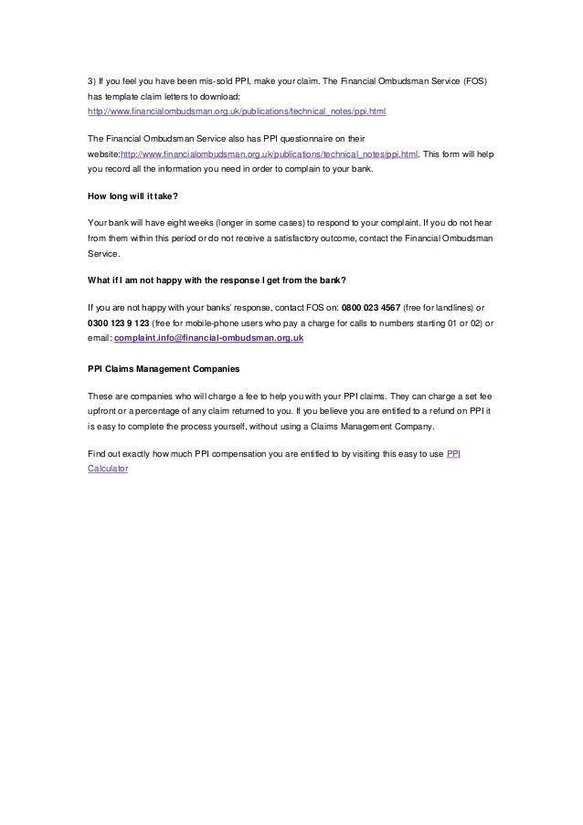Financial Ombudsman Service Complaint Form. Financial-Ombudsman ...