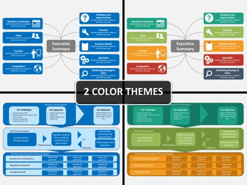 executive presentation template executive summary powerpoint ...