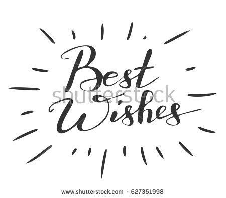Vinyage Best Wishes Vector - Download Free Vector Art, Stock ...