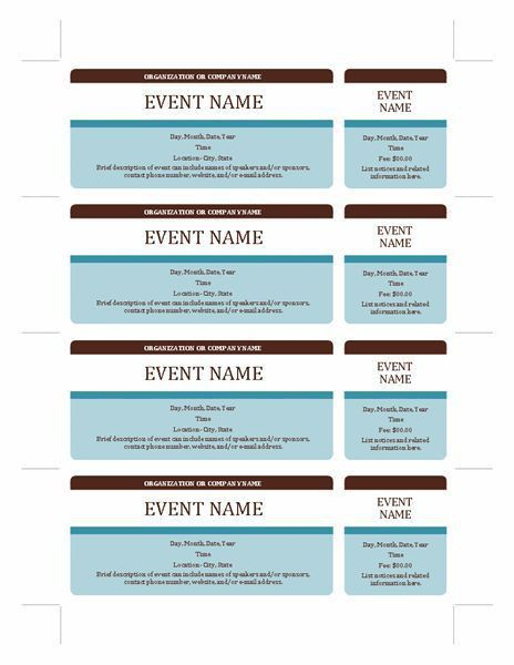 Best 25+ Event ticket template ideas on Pinterest | Event tickets ...