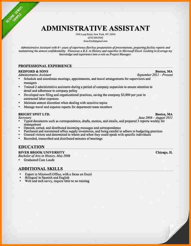 8+ executive assistant resume examples | resume reference