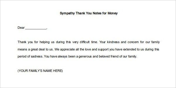 12+ Thank You Note Templates - Free Sample, Example, Format | Free ...