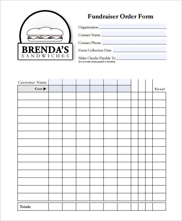 Nice Order Form Template U2013 27+ Free Word,Excel, PDF, Documents Download .