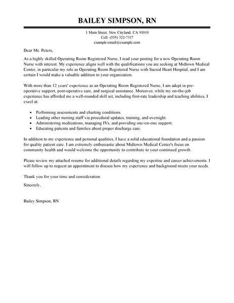 cover letter sample for registered nurse residency vntask com ...