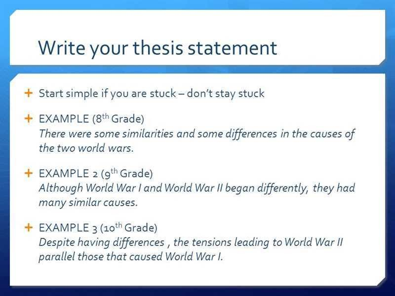 Help writing a thesis statement pepsiquincy.com