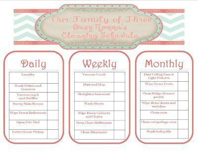 48 best Schedules to plan my day images on Pinterest | Cleaning ...