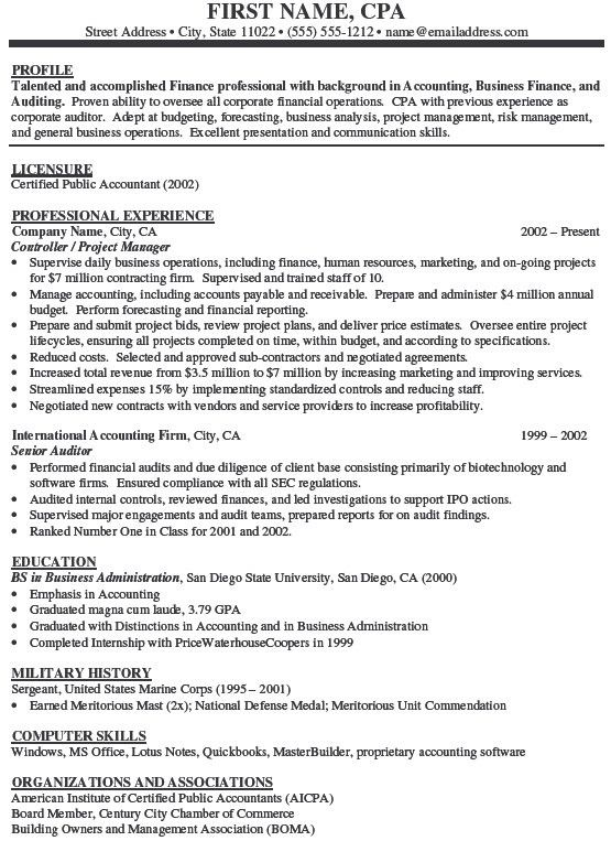 Accountant Resume Examples. Examples Electrical Engineer Resume ...