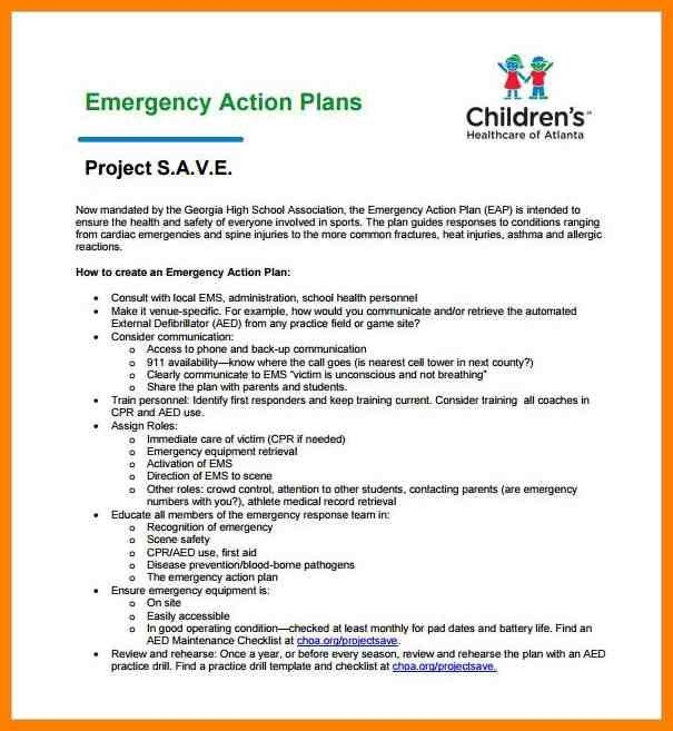 6+ emergency action plans examples | resigning letter
