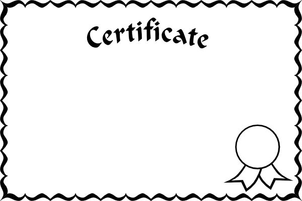 The picture for the word «Certificate» - Word Associations Network