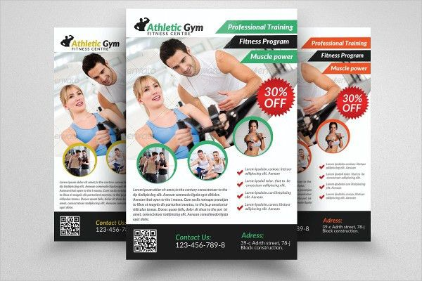 26+ Examples of Fitness Flyers