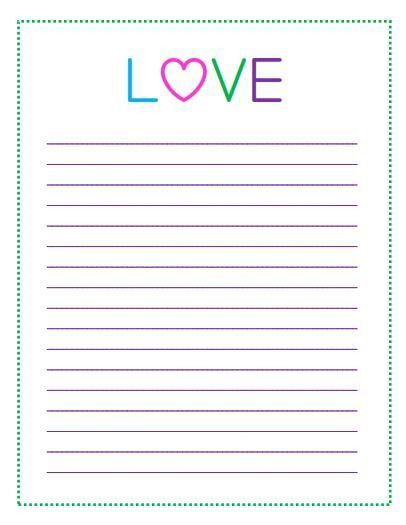 Free Printable Valentine's Day To Do Lists | Printable paper, Free ...