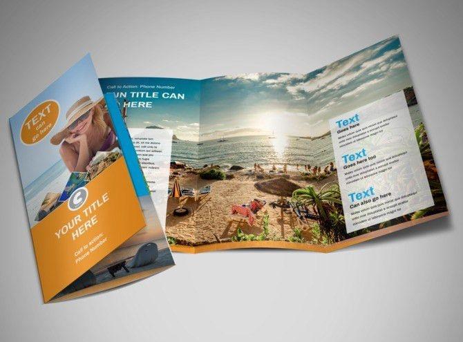 Sunny Travel Brochure Template | MyCreativeShop