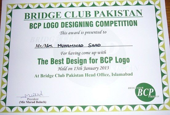 BRIDGE CLUB Pakistan|BCIO
