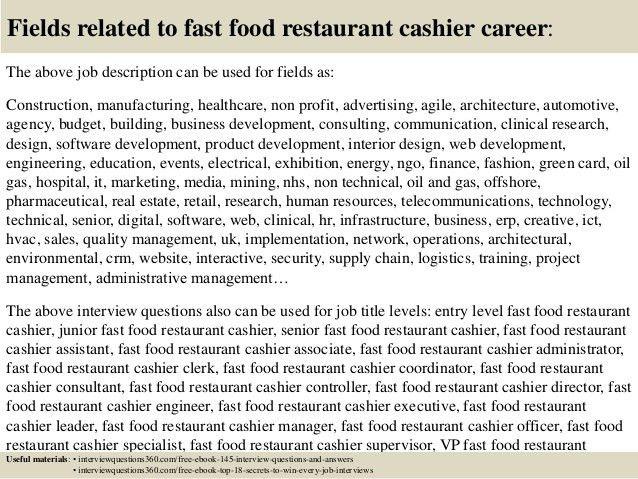 Cashier Job Description. Accounting Clerk Resume, Sample, Example ...