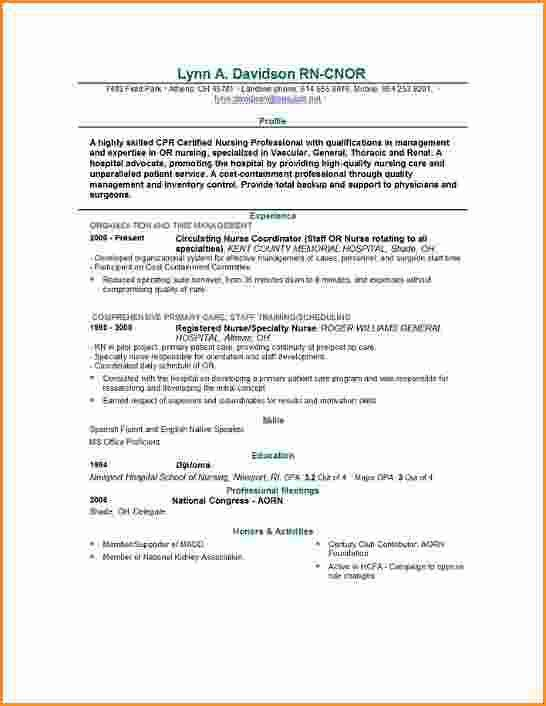 12+ graduate nurse resume examples | Invoice Template Download