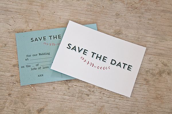 Swooned: Free Printable #6: Save-the-Date Postcards