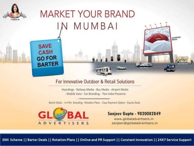 Outdoor Advertising Specialist For Automobiles in Andheri - Global A…