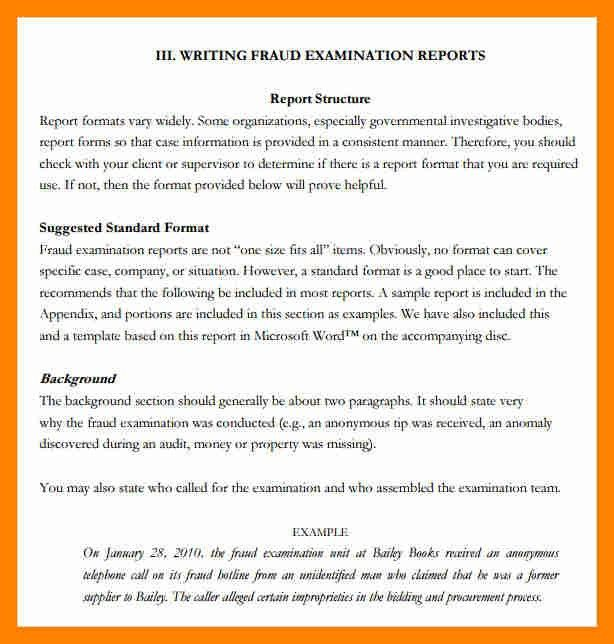 write a report format What this handout is about this handout provides a general guide to writing reports about scientific research you've performed in addition to describing the conventional rules about the format and content of a lab report, we'll also attempt to convey.