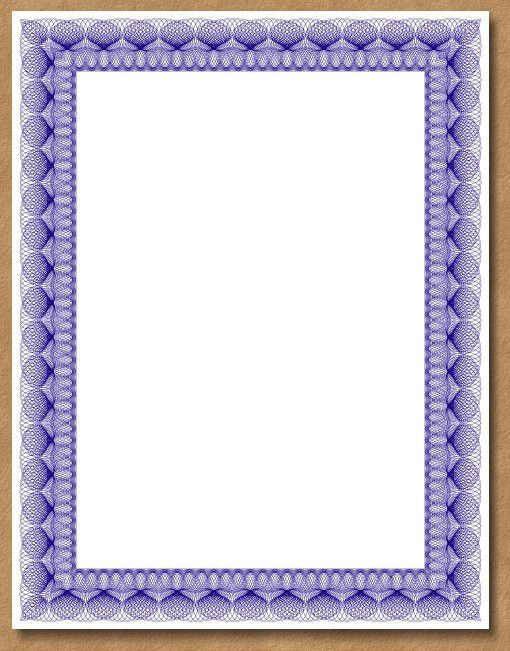 Certificate Border Templates For Word - Clipart library - Clip Art ...